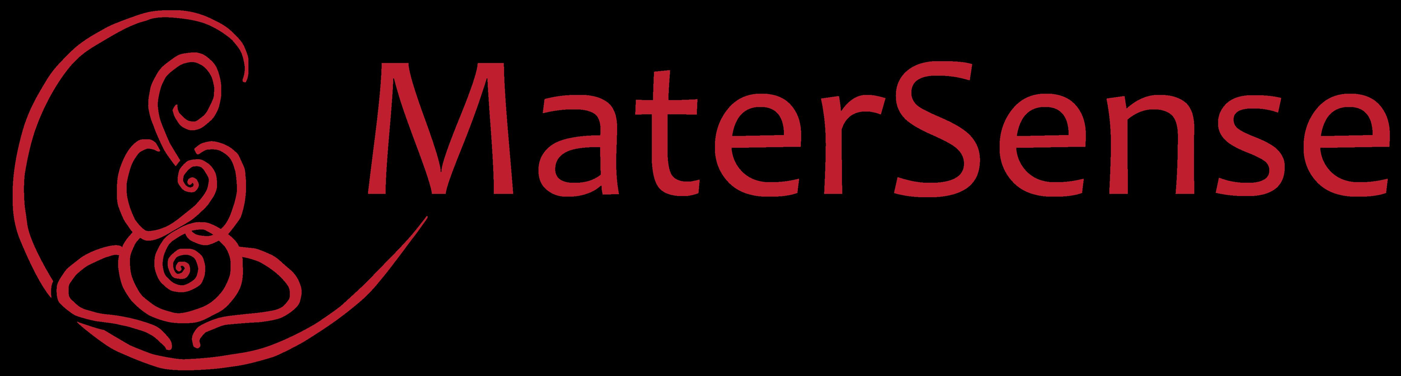 Logo MaterSense Aandacht voor moederschap